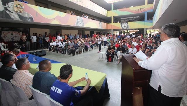 03 04 2018 EM Comando de Campaña Universitario del Zulia con Maduro (20)