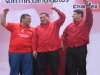 Comandante Chávez, Hugo y Temístocles Cabezas