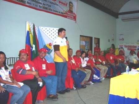 Asamblea con los Deportistas